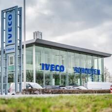 IVECO Schouten showroom weer open