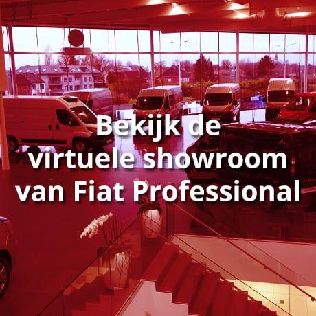 virtuele showroom van Fiat Professional