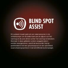 Fiat Ducato PRO blind spot assist