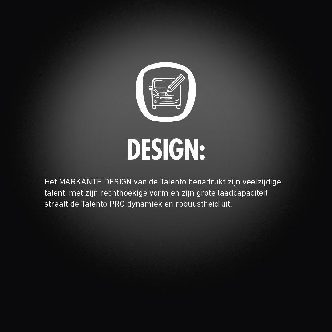 Fiat Talento PRO design