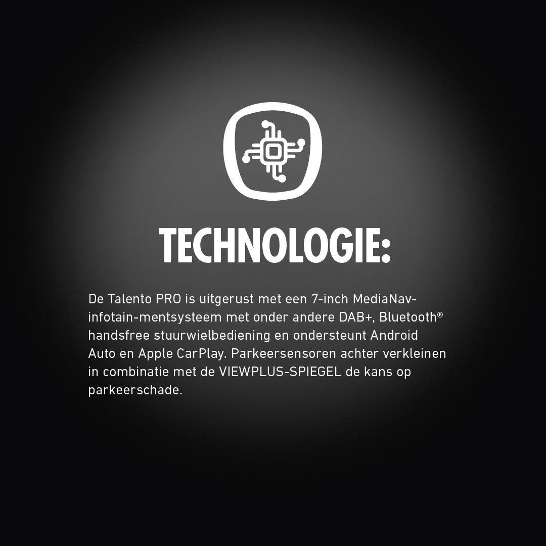 Fiat Talento PRO technologie